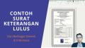 Contoh Surat Keterangan Lulus dari Berbagai Kabupaten