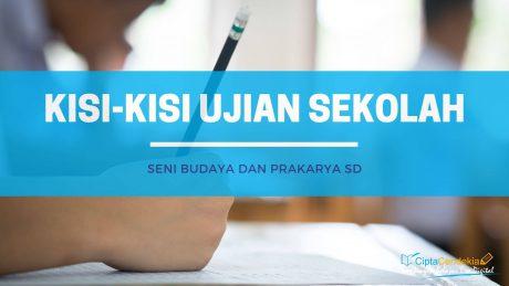 Kisi-Kisi Ujian Sekolah SBdP SD